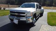 2008 Chevrolet Silverado 3500 HD CREW 4X4 DIESEL DUALLY